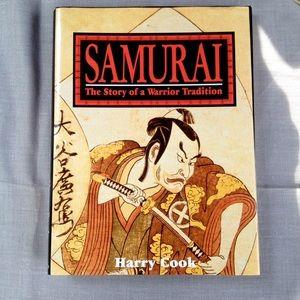 Vintage Samurai Warrior Illustrated History Book